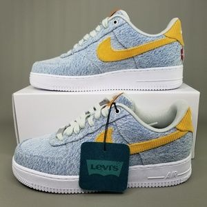 Nike x Levis Air Force 1 By You Athletic Shoes 8.5